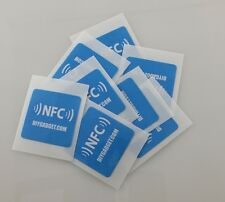 12 PCS NFC NTAG216 Sticker Tag for Smart Phones Samsung Sony LG Android Galaxy!!