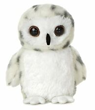 Aurora World Mini Flopsie Snowy Owl Plush Toy