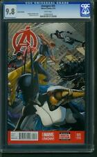 Avengers #25 (2014) CGC Graded 9.8 ~  Variant Edition ~ 1:50 Ratio