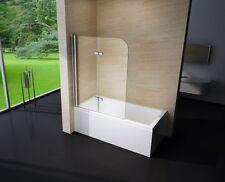 Pare - baignoire, 2 volets, en verre véritable NANO, EX209, 1200x1400x6mm
