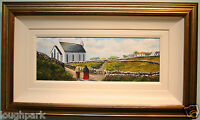 Original Oil Painting GOING TO THE CHAPEL Irish Artist Terrence Butcher