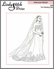 "The Wedding Day / sewing pattern for the 22"" American Model doll by Tonner"