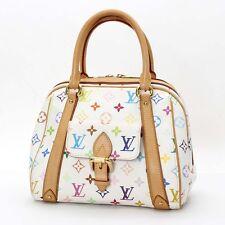 Auth Louis Vuitton Priscilla Monogram Multicolor Hand Bag M40096 10100428