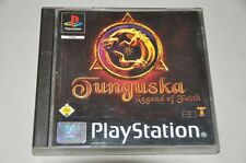 PlayStation 1 juego-Tunguska-Legend of Faith-completo alemán ps1