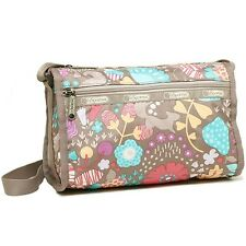 Lesportsac Deluxe Everyday Bag Garden Tale Pastel NEW