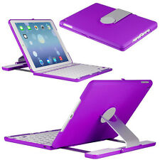 360° Rotating Swivel Case Cover with Bluetooth Keyboard For  IPad Air 2 iPad 6