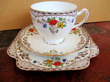 Art Deco / Vintage China Tea Set trio.A.B.Jones Grafton China.British.
