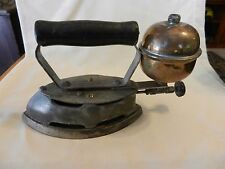 Antique Coleman Gas Powered Clothing Iron For Collectors or Door Stop