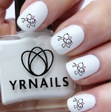 Nail WRAPS Nail Art Water Transfers Decals - Kiss The Bride Wedding Day  - S263