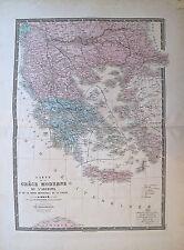 Atlas universel, XIXème, La Grèce et Turquie