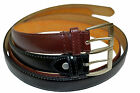 BELT DRESS MENS BIG AND TALL SET OF 2 BLACK  BROWN FREE SHIPPING GIFT IDEA NEW