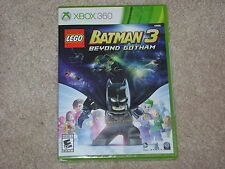 LEGO BATMAN 3 BEYOND GOTHAM...XBOX 360...**SEALED**BRAND NEW**!!!!!