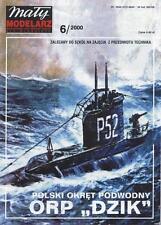Maly Modelarz 6/00 U-Boot der polnischen Marine ORP Dzik    1:100