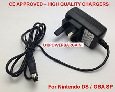 APROBADO POR LA CE enchufe UK Cargador para NINTENDO DS & GAMEBOY ADVANCE GBA SP