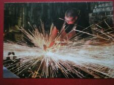 POSTCARD F1-6 DURHAM STOCKTON ON TEES - PRESTON HALL MUSEUM - BLACKSMITH