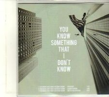 (DU62) My Preserver, You Know Something That I Don't Know - DJ CD