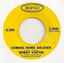 BOBBY VINTON 45 COMING HOME SOLDIER B/W DON'T LET MY MARY GO AROUND EPIC 5-10090