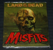 "The Misfits Land of the Dead 4"" x 4"" New Vinyl Sticker 2010 Issue Halloween OOP"