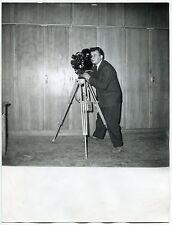 Photo Raoul Saguet - Cameflex - Tournage Camera - Tirage d'époque 1960 -