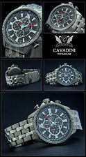 LUXURY AVIATOR MEN'S CHRONOGRAPH WATCH SERIES BLACKHAWK MADE OF SOLID TITAN