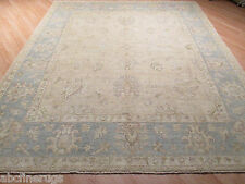 8x10 Persian All-over-pattern MUTED Hand-made-knotted Wool Oriental Rug 580365