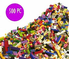 A Lego Brick and 500 pcs bulk Generic Building Blocks Pieces Tightly Fit to lego