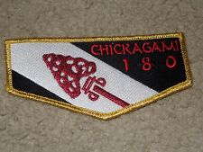 Boy Scout Chickagami OA Lodge 180 Blue Water Council Michigan NO WWW Flap Patch