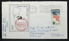 US Illustrated COVER San rafaelo Bear Sossi vote STAMP 5c USA lettera (h-7230