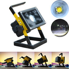 Rechargeable 30W 2400LM T6 LED Floodlight Work Light Caravan Camping Lamp USPS