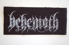 "Behemoth Cloth Patch Sew On Badge Black Metal Belphegor Approx 6""X2.5"" (CP232)"