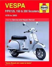 Vespa P/PX125, 150 and 200 Scooters, 1978-2009 by Max Haynes and Pete...