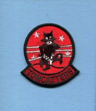 VF-31 TOMCATTERS FELIX US NAVY F-14 TOMCAT Fighter Squadron Red Shoulder Patch