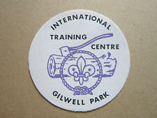 Gilwell Park (3) Cloth Patch Badge Boy Scouts Scouting