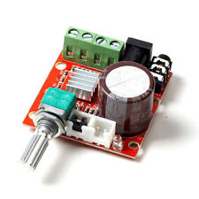12V Mini Hi-Fi PAM8610 Audio Stereo amplificateur board 2X10W Dual Channel HG
