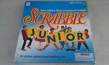 9N37 SCRABBLE JUNIOR GAME, NEVER OPENED, PKG IS DUSTY, NEW OTHER