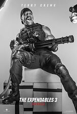 I MERCENARI THE EXPENDABLES 3 MANIFESTO TERRY CREWS CAESAR #EX3