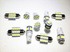 11PCS White LED Lights Interior Package for T10 & 31mm Map Dome For Jaguar Jeep