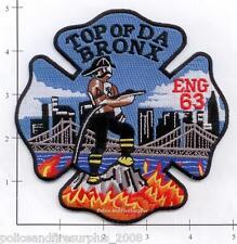 New York City NY Fire Dept Engine 63 Patch v6