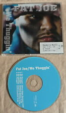 cd single FAT JOE We thuggin' CDM 4 tr 2001 HIPHOP