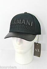 ARMANI EXCHANGE A|X BASEBALL TRACKER HAT ONE SIZE BRAND NEW AUTHENTIC CARBON