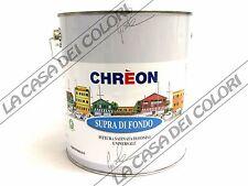 CHREON SUPRA DI FONDO - TINTE RAL - 0,500 lt - PITTURA DI FONDO AL SOLVENTE