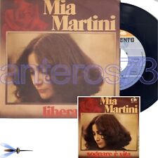 "MIA MARTINI ""LIBERA"" RARE 45RPM MADE IN ITALY MINT - EUROVISION"