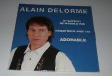Alain Delorme - et surtout ne m'oublie pas - cd single 2 titres 1993