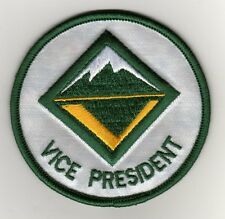"Venture Scout Vice President Position Patch, Green Brd, ""BSA 2010"" Back, Mint!"