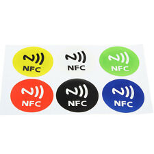 6Pcs Waterproof NFC Smart Tag Stickers Rfid Tag Adhesive Label For Samsung S3 S4