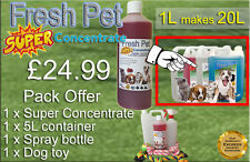 FRESH PET SUPER PACK Kennel/Cattery Disinfectant to make 20L - CHERRY