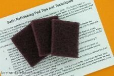 Satin / Brushed Refinishing Pad for Brushed Steel Watch (3 Pack)