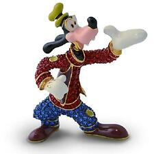 "DISNEY PARKS AUTHENTIC ""GOOFY"" JEWELED FIGURINE BY ARRIBAS - SWAROVSKI®"