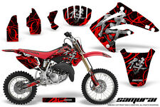 HONDA CR 85 03-07 GRAPHICS KIT CREATORX DECALS STICKERS SAMURAI RBNP