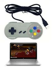 Wired SNES Super NES Gaming USB Controller Gamepad for for PC, laptop, notebook